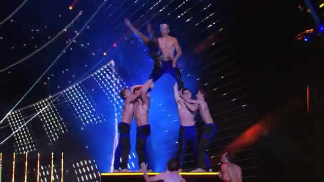 AcroArmy: Acrobatic Dance Group Flies High - America's Got Talent 2014 Finale