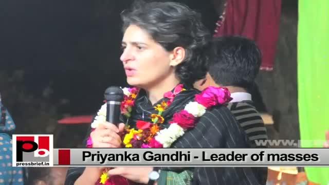 Priyanka Gandhi Vadra-young progressive Congress campaigner, genuine mass leader