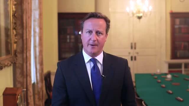 Rosh Hashanah and Yom Kippur 2014: David Cameron's message