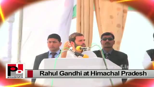 Rahul Gandhi during his Amethi visit slams Narendra Modi led NDA Govt at the centre