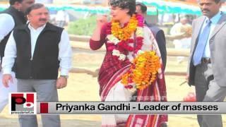 Energetic Priyanka Gandhi Vadra - charismatic, genuine mass leader with progressive vision