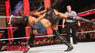 AJ Lee vs. Alicia Fox: WWE Raw, Sept. 29, 2014