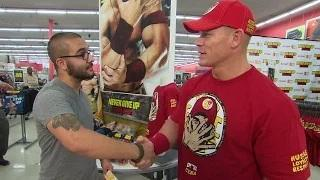 WWE: John Cena participates in a Hide and Tweet for Night of Champions Tickets