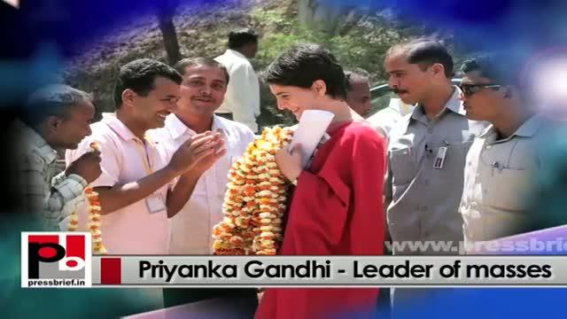 Priyanka Gandhi Vadra - charismatic personality with progressive vision