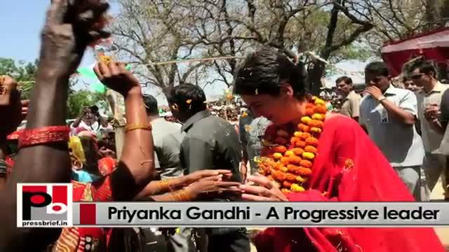 Priyanka Gandhi Vadra - favourite leader of people in Amethi and Raebareli