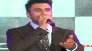 Ranveer Singh REFUSES to answer on Deepika Padukone