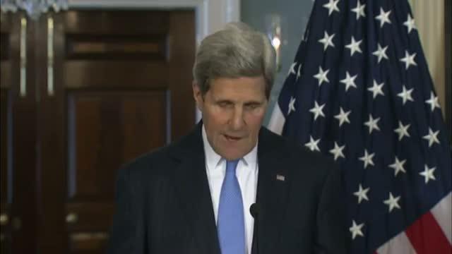 Kerry: World Must 'step Up' Anti-Ebola Effort