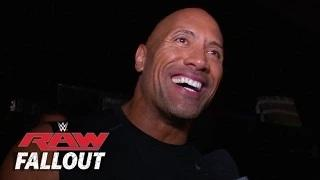 The Rock is Back - WWE Raw Fallout - Oct. 6, 2014
