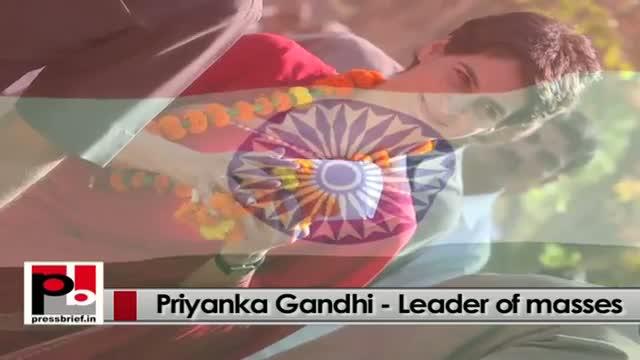 Young Priyanka Gandhi Vadra- charismatic and charming personality like Indira Gandhi