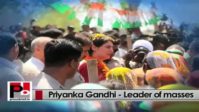 Priyanka Gandhi Vadra - charming personality