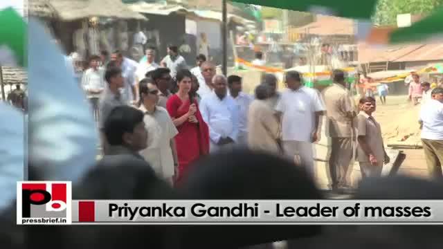 Priyanka Gandhi Vadra - charismatic and inspiring person like Indira Gandhi