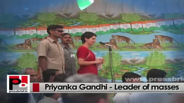 Priyanka Gandhi Vadra - young, genuine mass leader