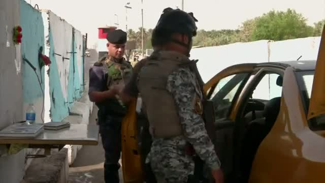 Raw: Baghdad Tightens Security Due to IS Threat