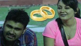 Arya Babbar PROPOSES Minisha Lamba In BIGG BOSS
