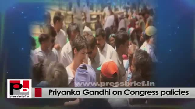Priyanka Gandhi - Strong person, charismatic like Indira Gandhi