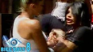 Bigg Boss 8 15th October 2014 Episode 24   Diandra & Sonali's PHYSICAL FIGHT in Bigg Boss 8