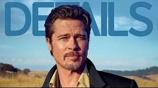 Brad Pitt Rides Motorcycle in LA to Blend In