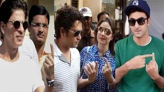 Bollywood Celebs Cast Their Votes For Maharashtra Assembly Elections