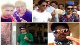 Bollywood stars VOTE at Maharashtra Assembly Elections 2014 | Abhishek Bachchan, Sonam Kapoor & MORE
