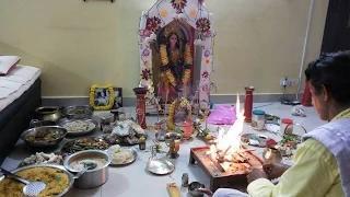 Kojagori Lokkhi Puja - Laxmi Puja in Bengal - Lakshmi Puja 2014