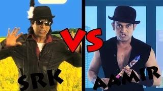Shahrukh Khan vs Aamir Khan Rap Battle