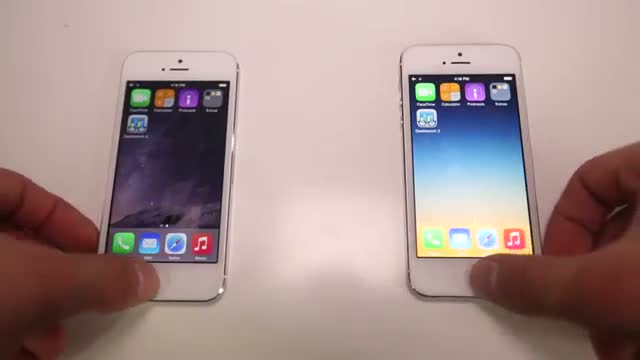 iOS 8.0.2 VS 8.1 - Is It Faster? + What's New Review