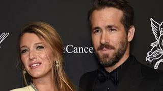 Blake Lively Wears Skintight Dress, Makes Bump Debut with Ryan Reynolds