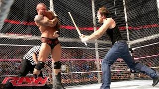 "Dean Ambrose punishes ""Seth Rollins"": WWE Raw, Oct. 20, 2014"
