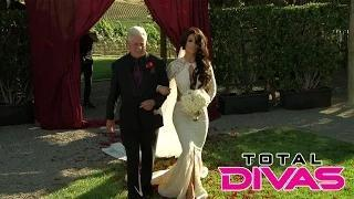Eva Marie walks down the aisle: WWE Total Divas, Oct. 26, 2014