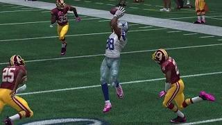 Are the Cowboys the Most Complete Team in the NFL? vs Redskins Madden 15 Online Gameplay