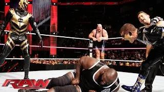 Mark Henry & Big Show vs. Gold & Stardust - WWE Tag Team Championship Match: WWE Raw, Oct. 27, 2014