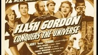Flash Gordon Conquers The Universe / Purple Death From Outer Space full movie Buster Crabbe (Full Movie)