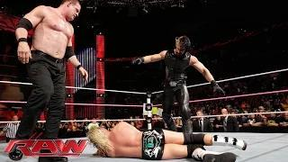 Dolph Ziggler vs. Kane: WWE Raw, October 27, 2014