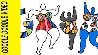 Niki de Saint Phalle Google Doodle Video