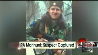 Cop Killer Eric Frein Has Been Captured - Eric Frein Captured ALIVE!!!