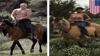 Chelsea Handler goes topless to prove she's hotter than Vladimir Putin