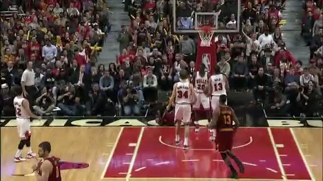 NBA: Kyrie Twist and Turns for the Bucket and the Foul