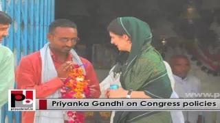 Genuine leader Priyanka Gandhi Vadra - charismatic like former Prime Minister Indira Gandhi