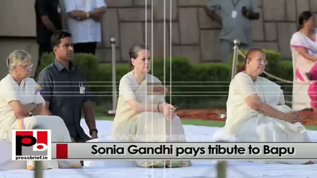 Sonia Gandhi's main agenda - to eradicate poverty from our country