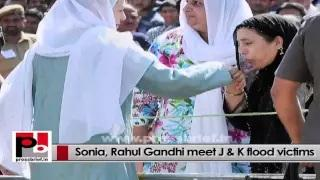 Sonia Gandhi tells all Congress CMs to support the rehabilitation efforts in flood-hit J&K
