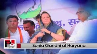 Sonia Gandhi - a great mass leader who easily strikes chord with the people