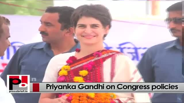 Young Priyanka Gandhi Vadra easily strikes chord with the common people