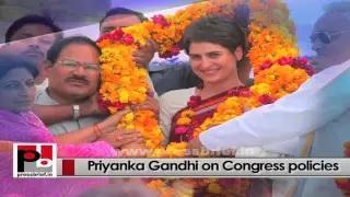 Energetic person Priyanka Gandhi Vadra - progressive and charismatic leader like Indira Gandhi