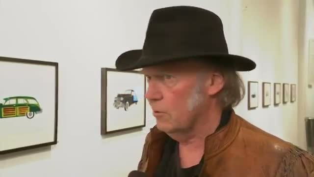 Neil Young's Art