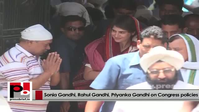 Sonia Gandhi, Priyanka Gandhi, Rahul Gandhi - charismatic and matured Congress leaders