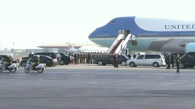US President Arrives for the APEC Summit