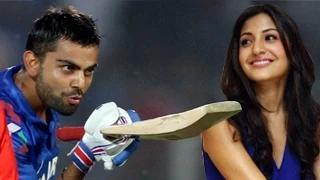 Virat Kohli BLOWS A KISS to Anushka Sharma at India V/S Sri Lanka 2014 MATCH