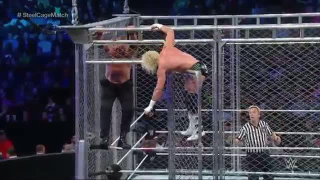 Dolph Ziggler vs. Kane - Steel Cage Match: WWE SmackDown, Nov. 7, 2014