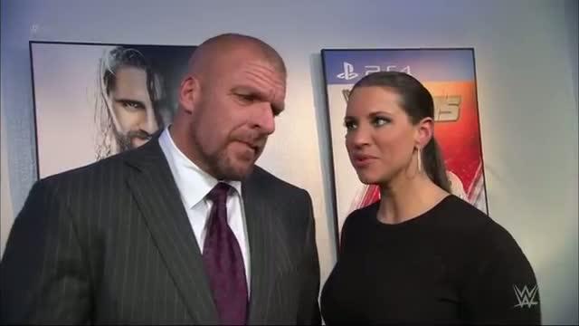 Triple H and Stephanie discuss what awaits at Survivor Series: WWE Raw, Nov. 10, 2014