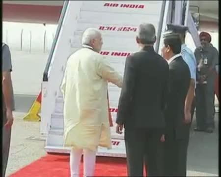 PM Narendra Modi departure for Myanmar